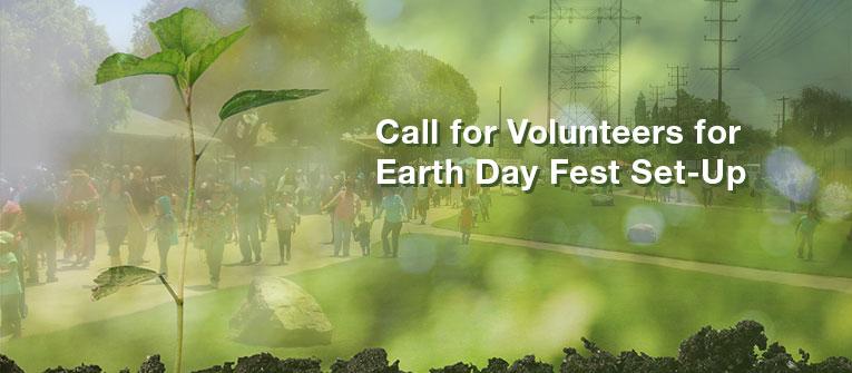 Seeking volunteers to help set up Festival