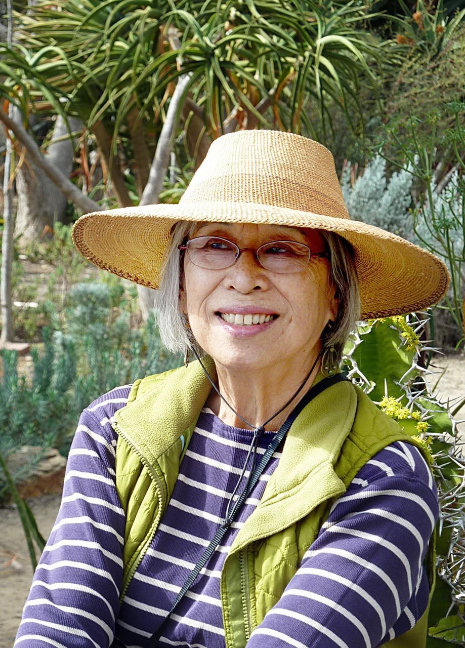 Florence Nishida will teach growing asian vegetables in Los Angeles