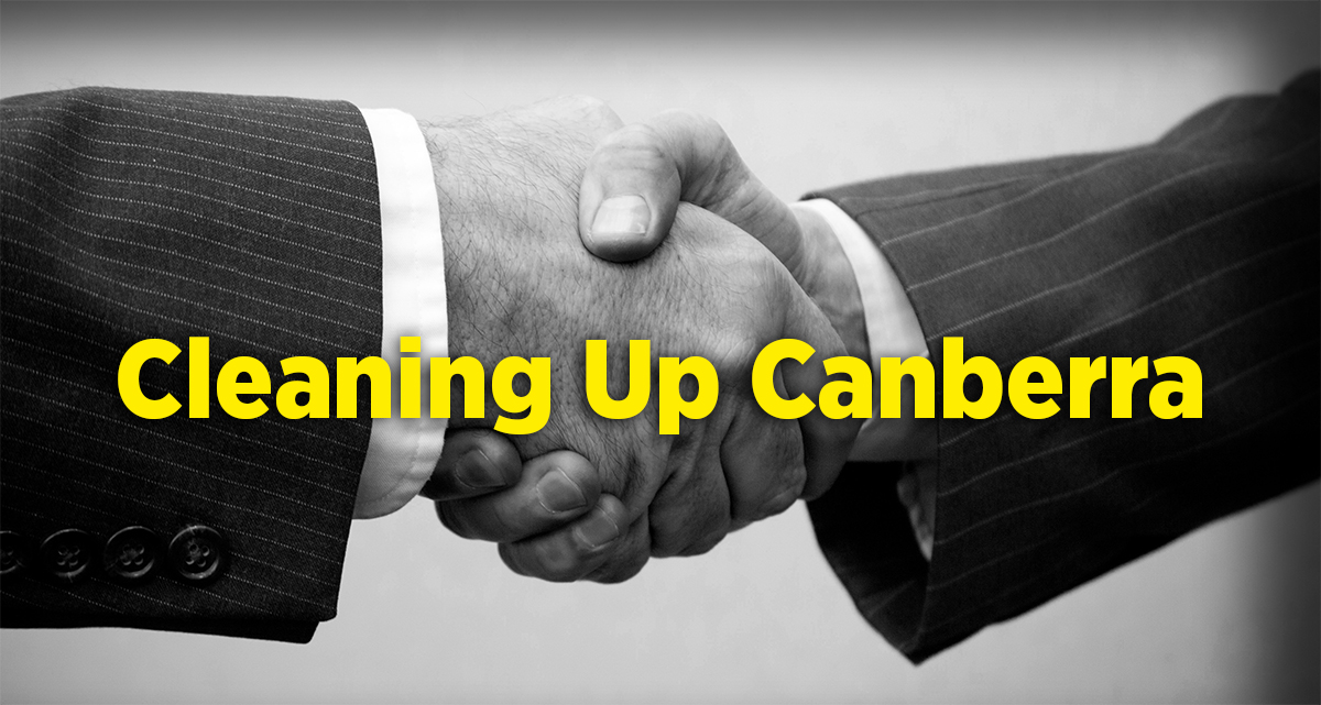 Cleaning up Political Lobbying in Canberra