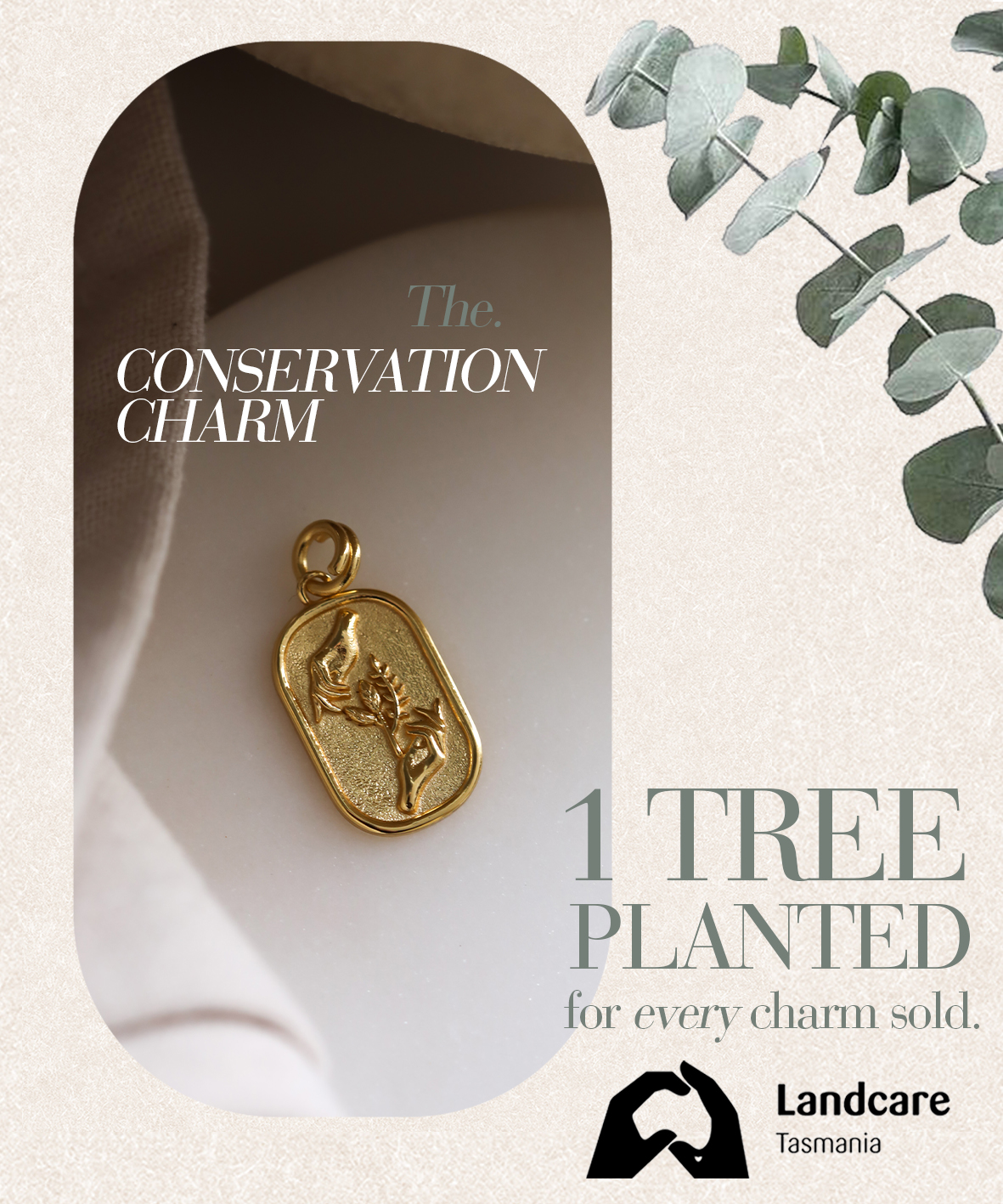 Francesca Conservation Charm
