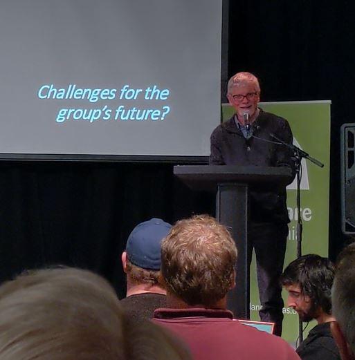 John Council talks