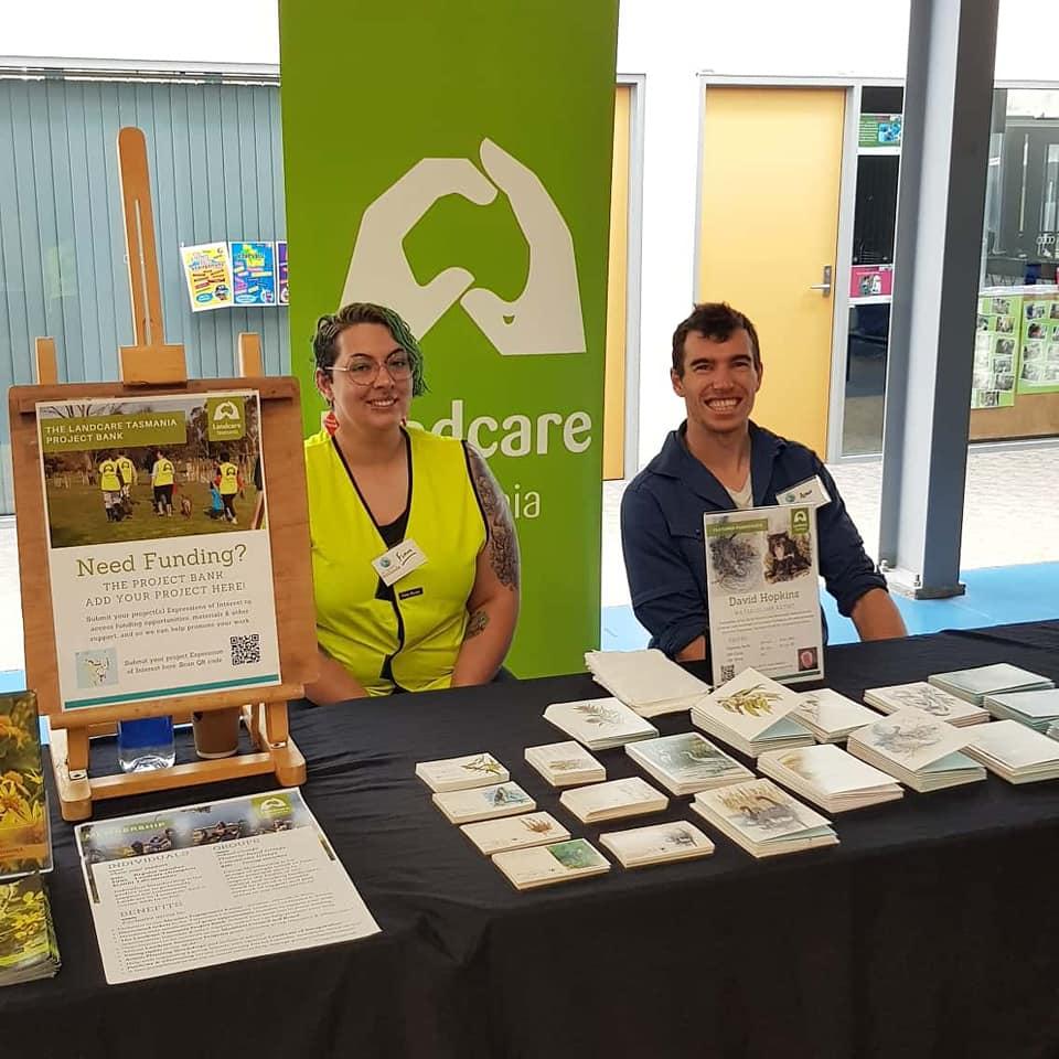 Finn and Adam - Landcare Tasmania