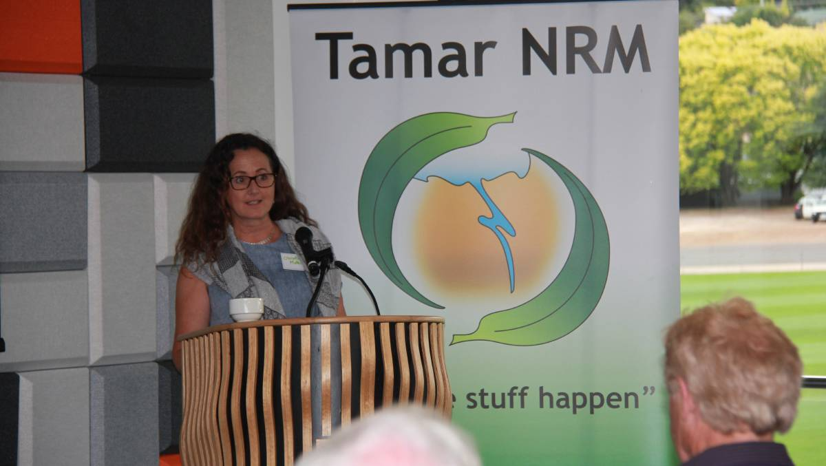 Christine Materia-Rowlands helped to develop the original Tamar NRM strategy in 1998. Picture: supplied
