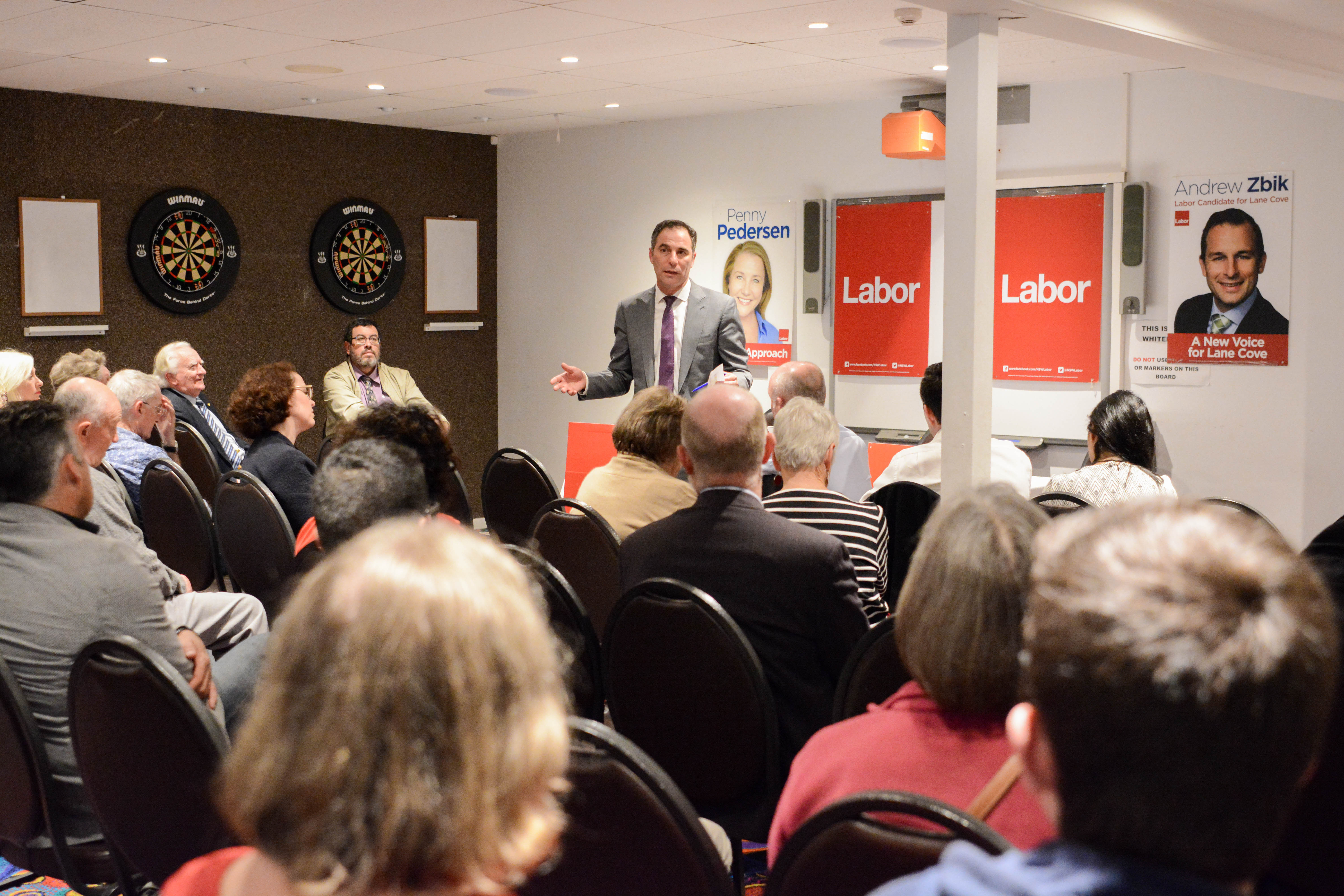 Jihad Dib MP meeting with local residents in Gladesville