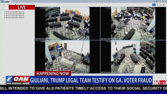Video from GA shows suitcases filled with ballots pulled from under a table AFTER poll workers left. https://www.youtube.com/watch?v=nVP_60Hm4P8