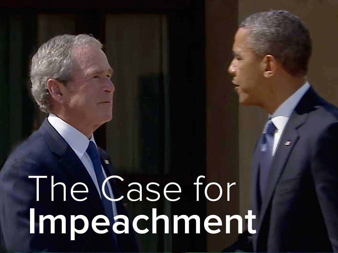 impeachment of obama Mitch mcconnell revised history when explaining why he supported president  trump's missile strike on syria but opposed president obama's.