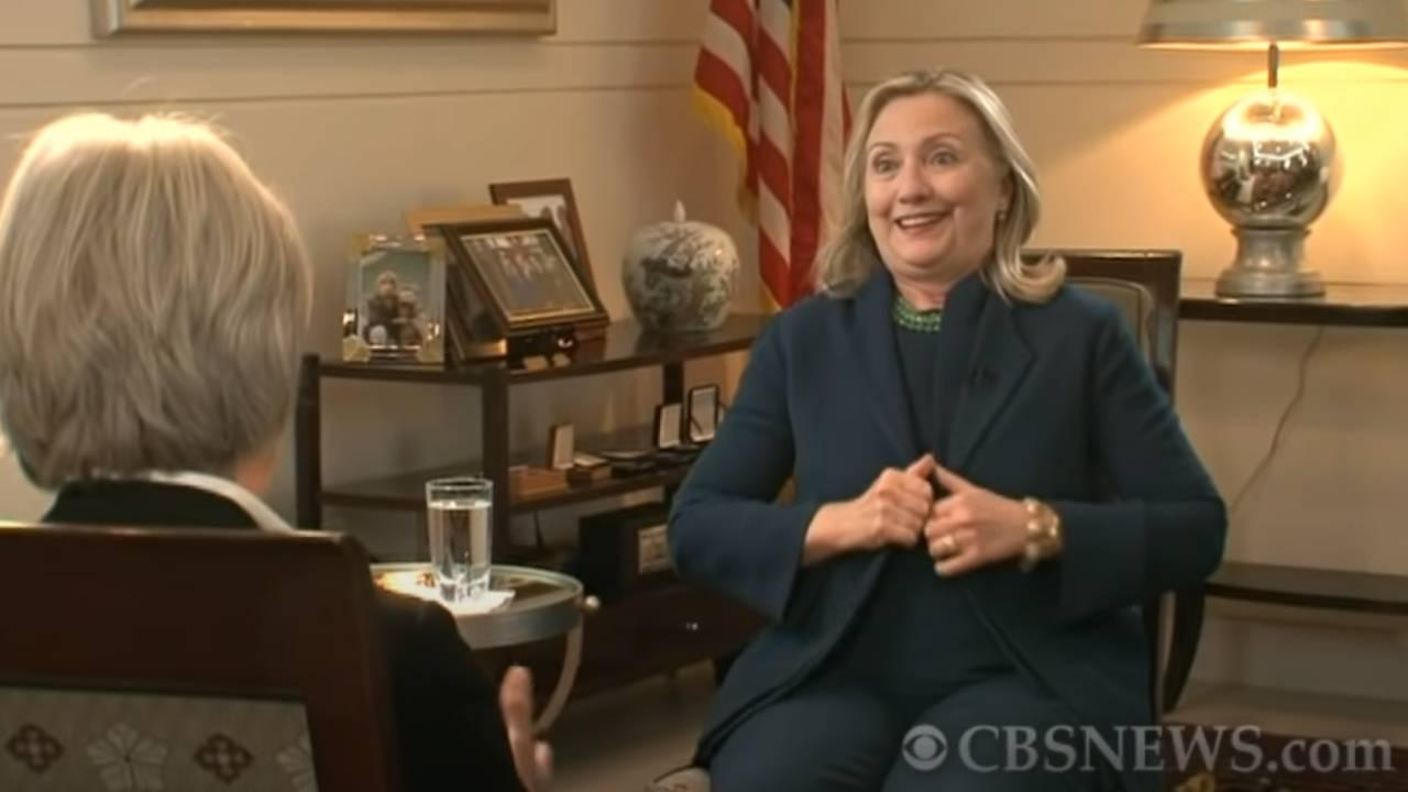 """""""We came, we saw, he died"""" Hillary Clinton on CBS. Oct. 20, 2011 https://www.youtube.com/watch?v=mlz3-OzcExI"""