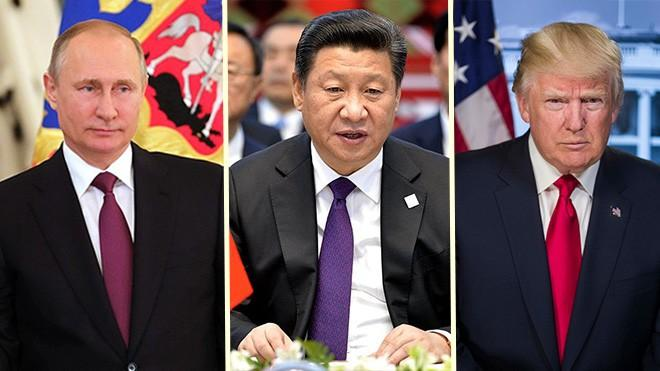 Putin, Xi, and Trump