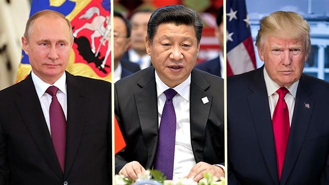 Putin, Xi, and Trump