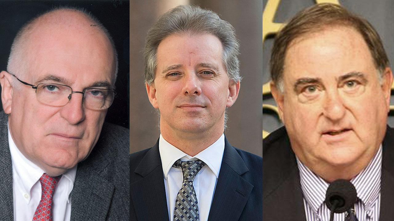 Christopher steele and stefan halper three leading figures in the british information and intelligence coup against u s president donald trump
