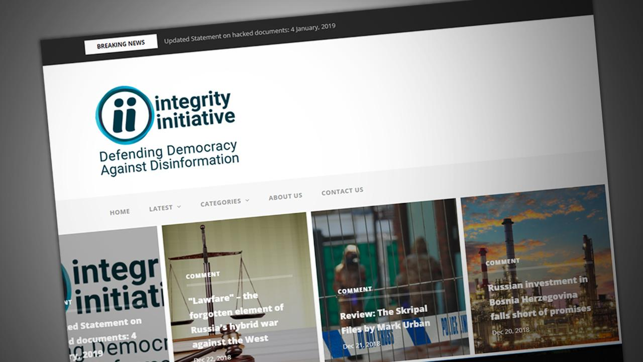 Part II: The Integrity Initiative's Foreign Agents of Influence