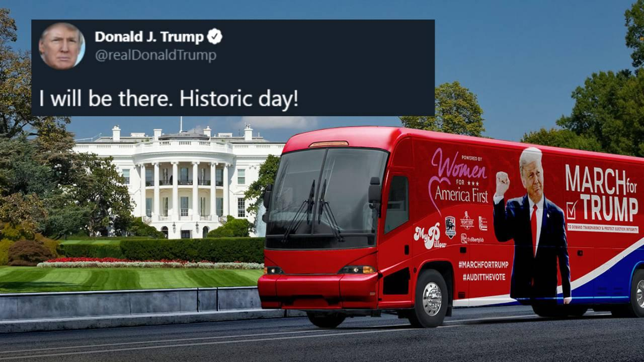 More info can be found at https://TrumpMarch.com