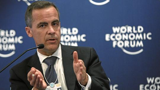 Mark Carney, Former Governor of the Bank of Canada. World Economic Forum, Davos, Switzerland. January 2010.