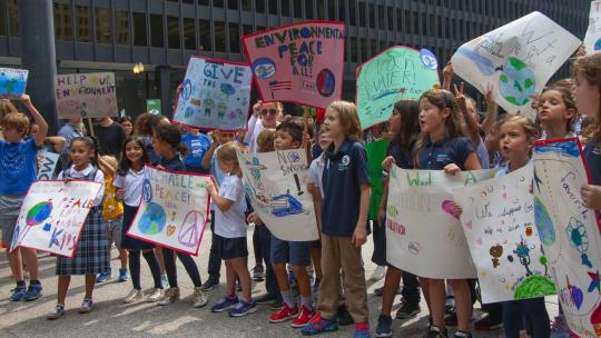 3rd Grade Students from James Ward Elementary School Climate Strike in Chicago Illinois, September 20, 2019. Photo (Charles Edward Miller/Flickr) (CC BY-SA 2.0)