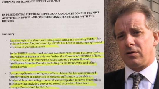 Christopher Steele's Dirty Dossier can be found here: https://www.documentcloud.org/documents/3259984-Trump-Intelligence-Allegations.html