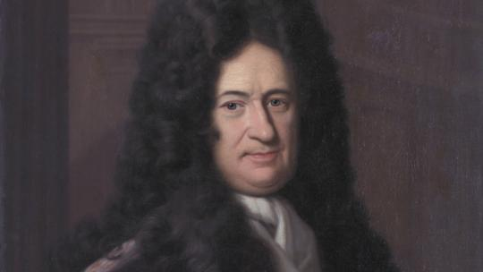 Portrait of Gottfried Leibniz (1646-1716), by Bernhard Christoph Francke.