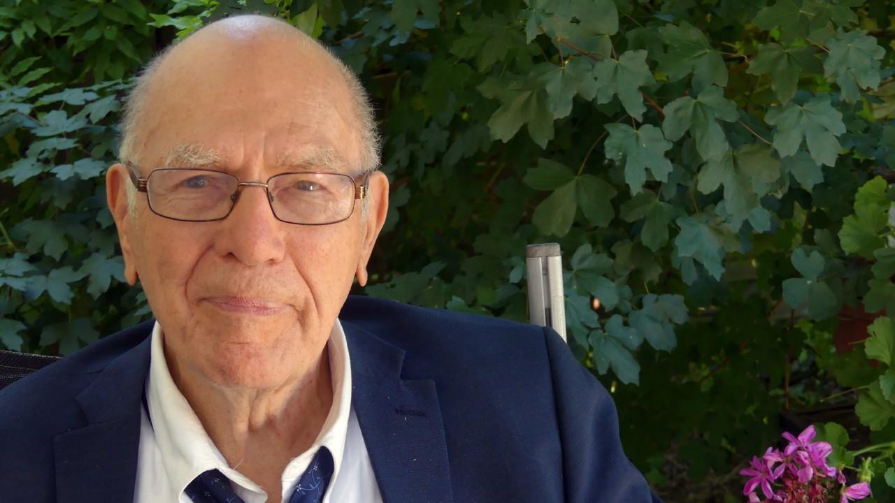Lyndon LaRouche attending a Schiller Institute Conference in Germany. June 2018. (Michelle Rasmussen/ EIRNS)