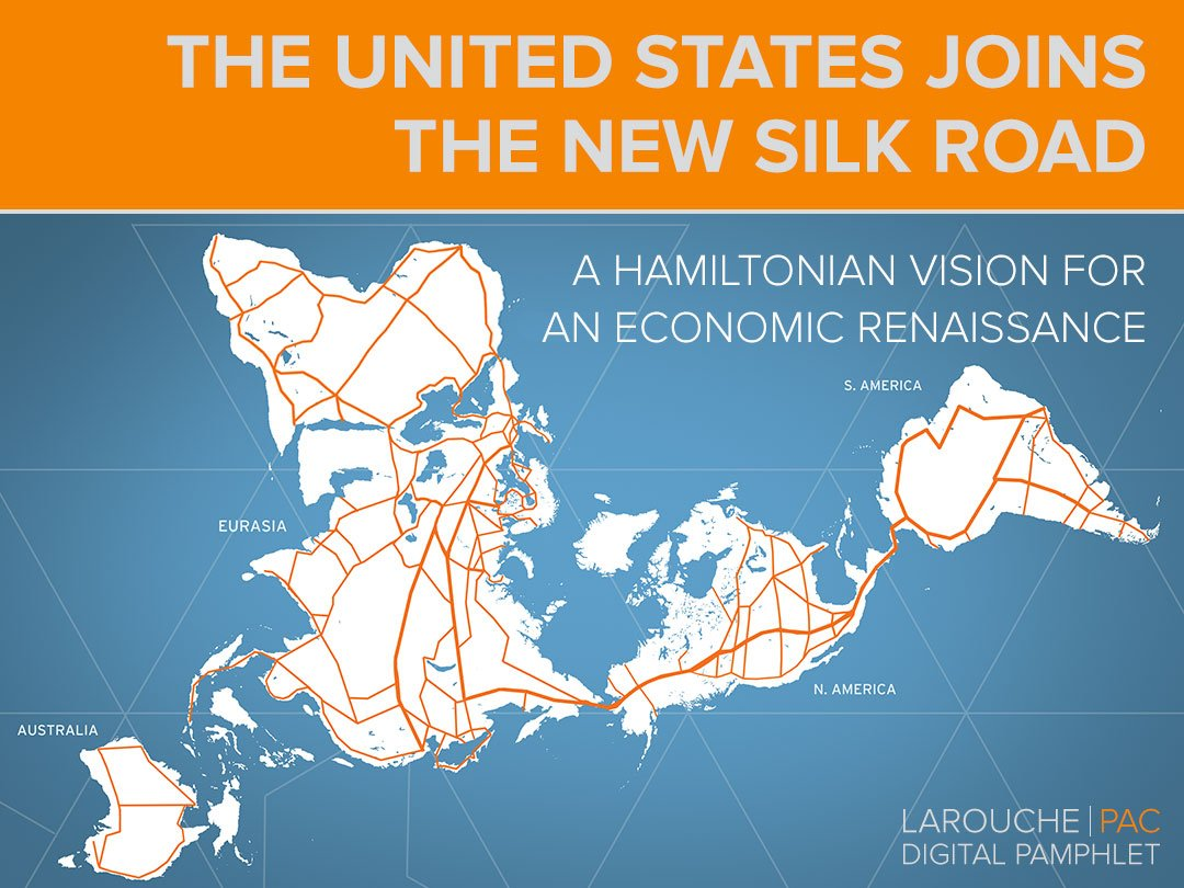 The United States Joins The New Silk Road LaRouchePAC - Us new silk road map