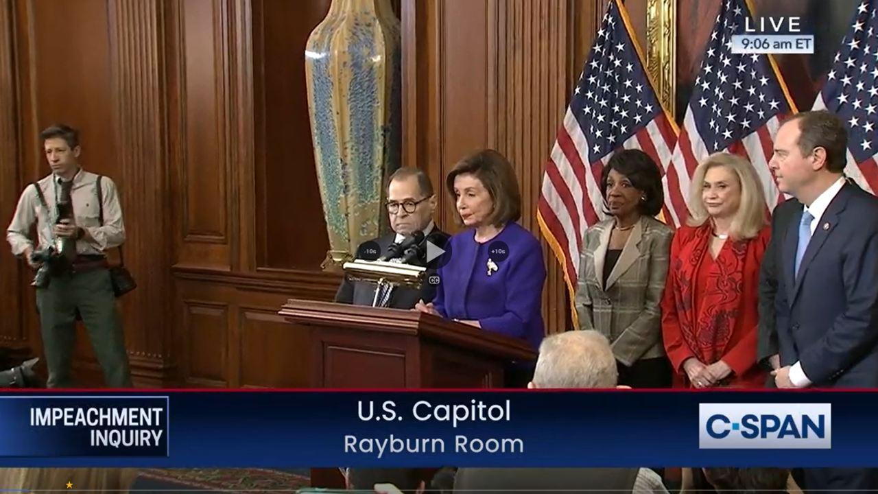 Literally just Democrats. December 10, 2019 (CSPAN)
