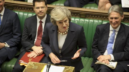 Theresa May's first PMQs as Prime Minister, July 20, 2016 (Photograph © UK Parliament/Jessica Taylor)