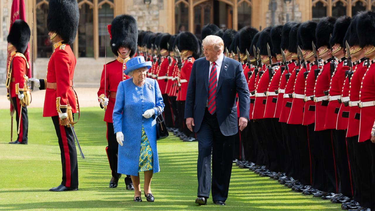 President Donald J. Trump and Queen Elizabeth II | July 13, 2018 (Official White House Photo by Andrea Hanks)