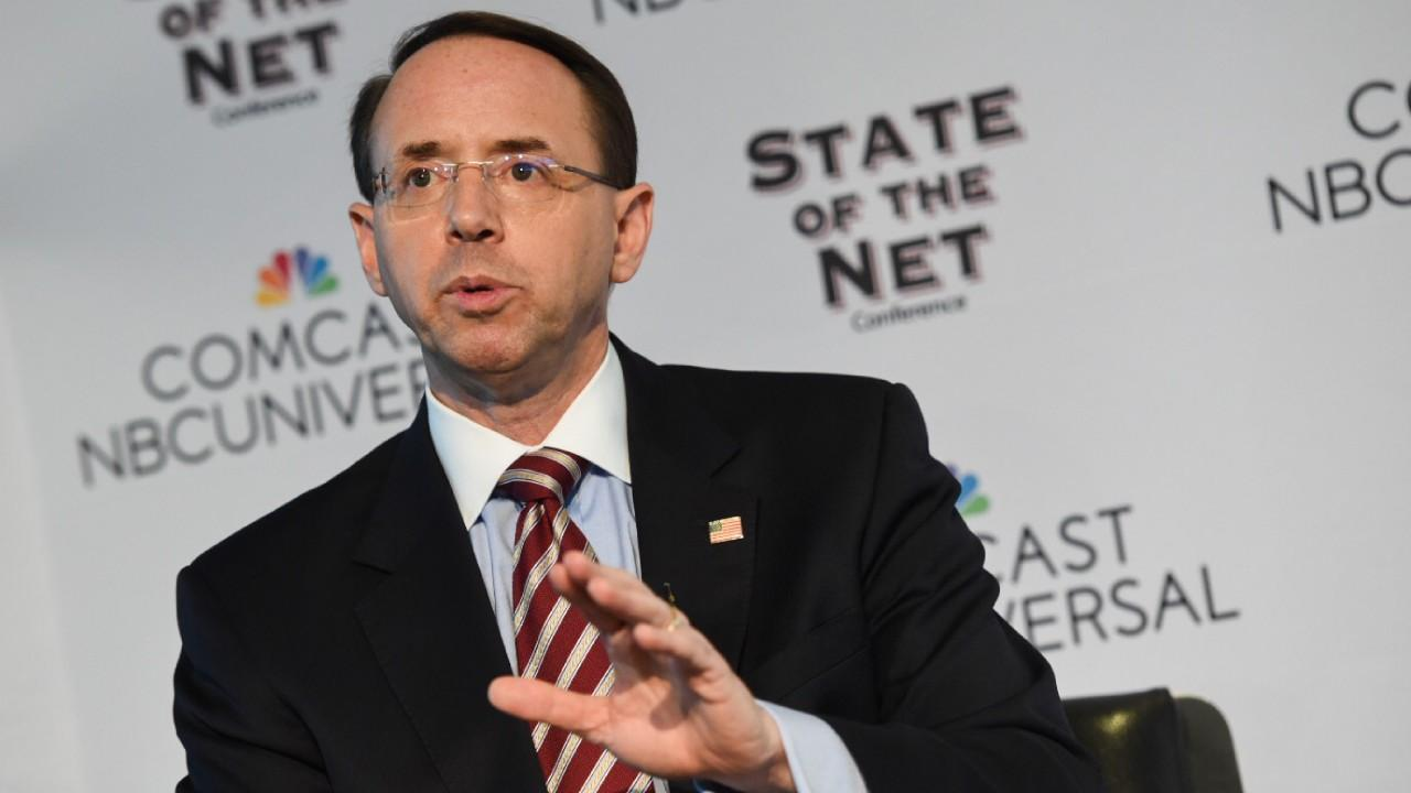 Deputy Attorney General Rod Rosenstein, Keynote at the 2018 State of the Net Conference, January 29, 2018 [Internet Education Foundation / Flickr]