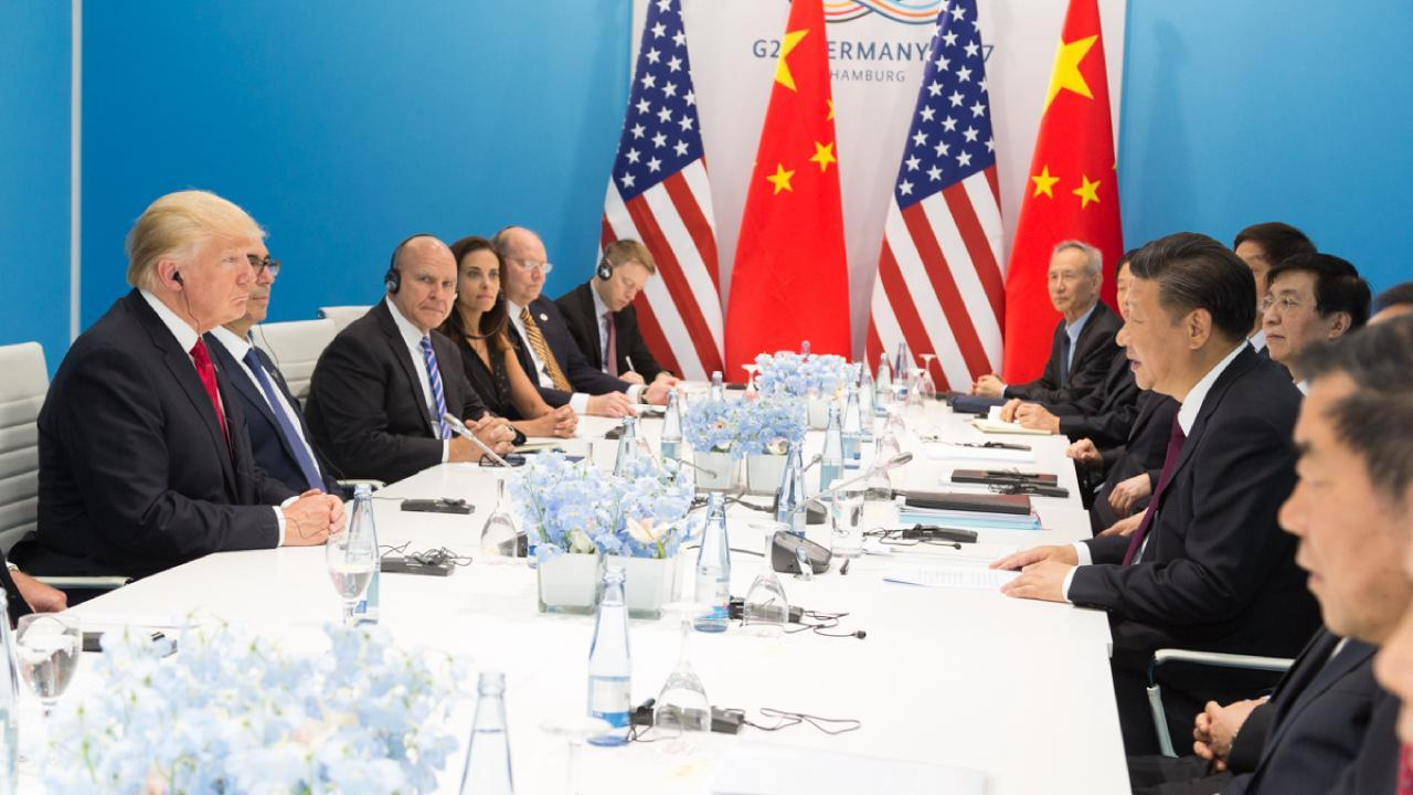 President Trump's Trip to Germany and the G20 Summit President Donald J. Trump and President Xi Jinping | July 8, 2017 (Official White House Photo by Shealah Craighead)