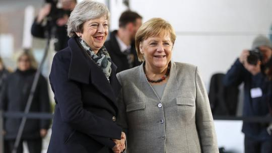 UK Prime Minister Theresa May travelled to the Berlin to have a bilateral meeting with German Chancellor, Angela Merkel, at the Chancellery. Dec 11, 2018 (flickr/number10gov)