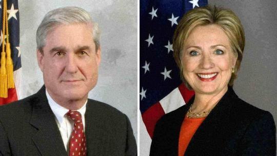 Robert Swan Mueller and Hillary Rodham Clinton
