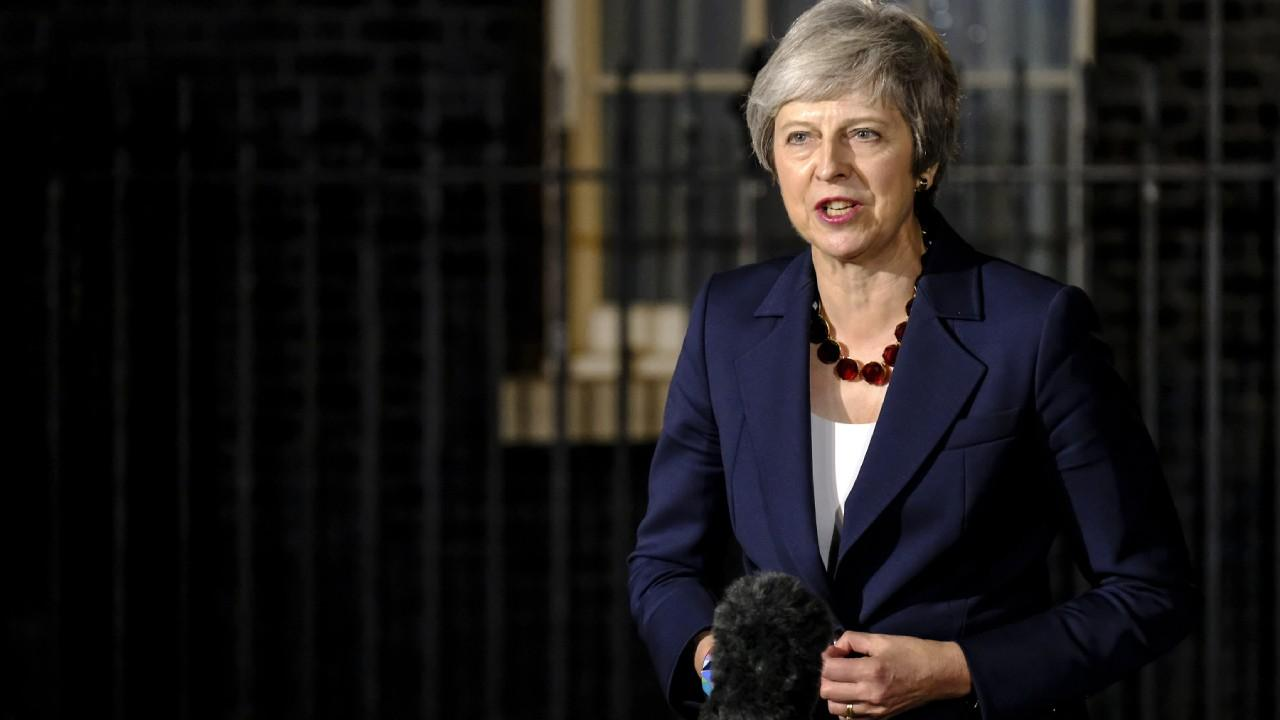 UK Prime Minister Theresa May held a statement on Brexit at Downing Street on completion of her Cabinet meeting. Nov. 14, 2018 (flickr/number10gov)