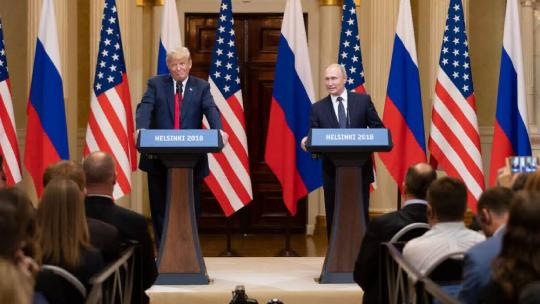 President Donald J. Trump and President Vladimir Putin of the Russian Federation hold a joint press conference | July 16, 2018 (Official White House Photo by Andrea Hanks)