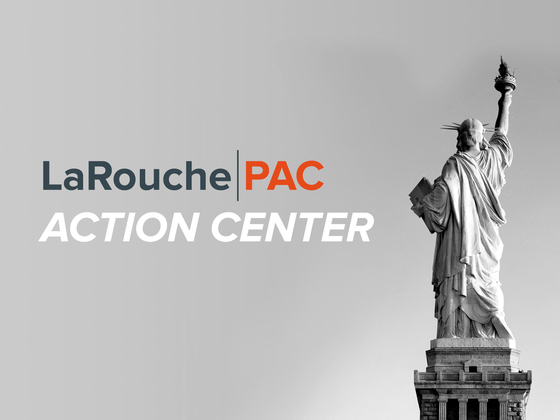 LPAC Action Center Banner-Lady Liberty