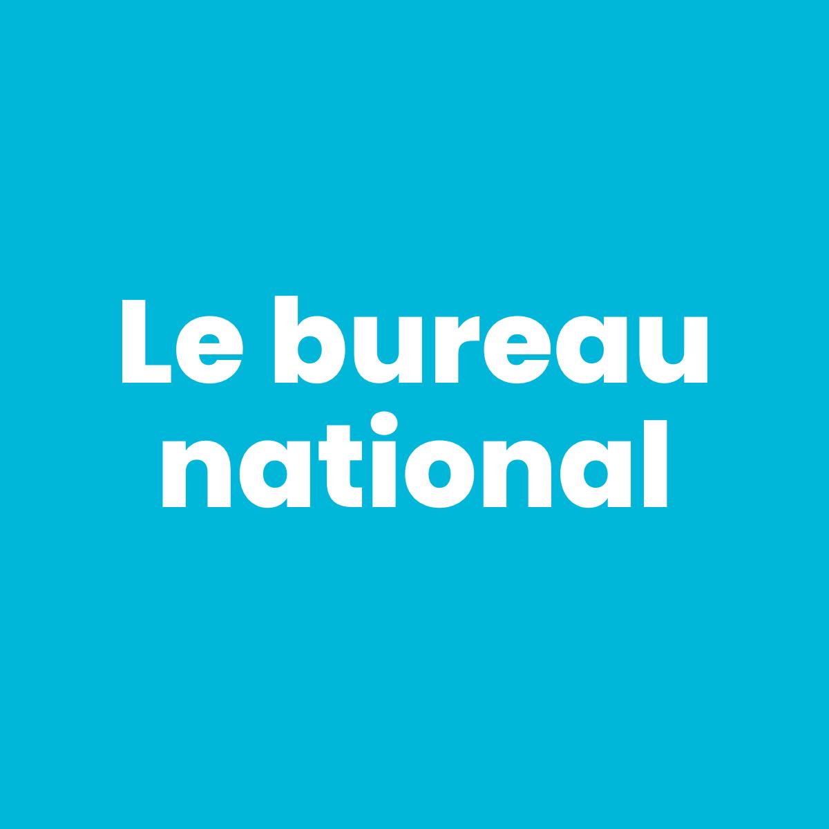 Le bureau national