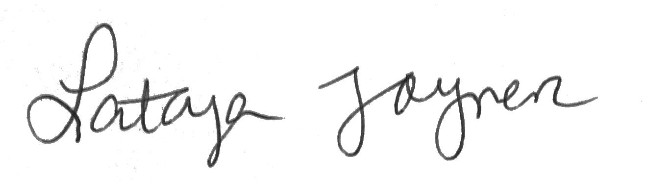 Latoya Signature