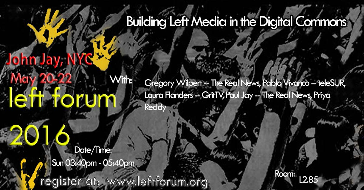 Building Left Media in the Digital Commons