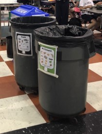 Recycling and compost pilot 2018
