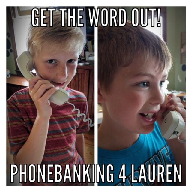calling for Lauren