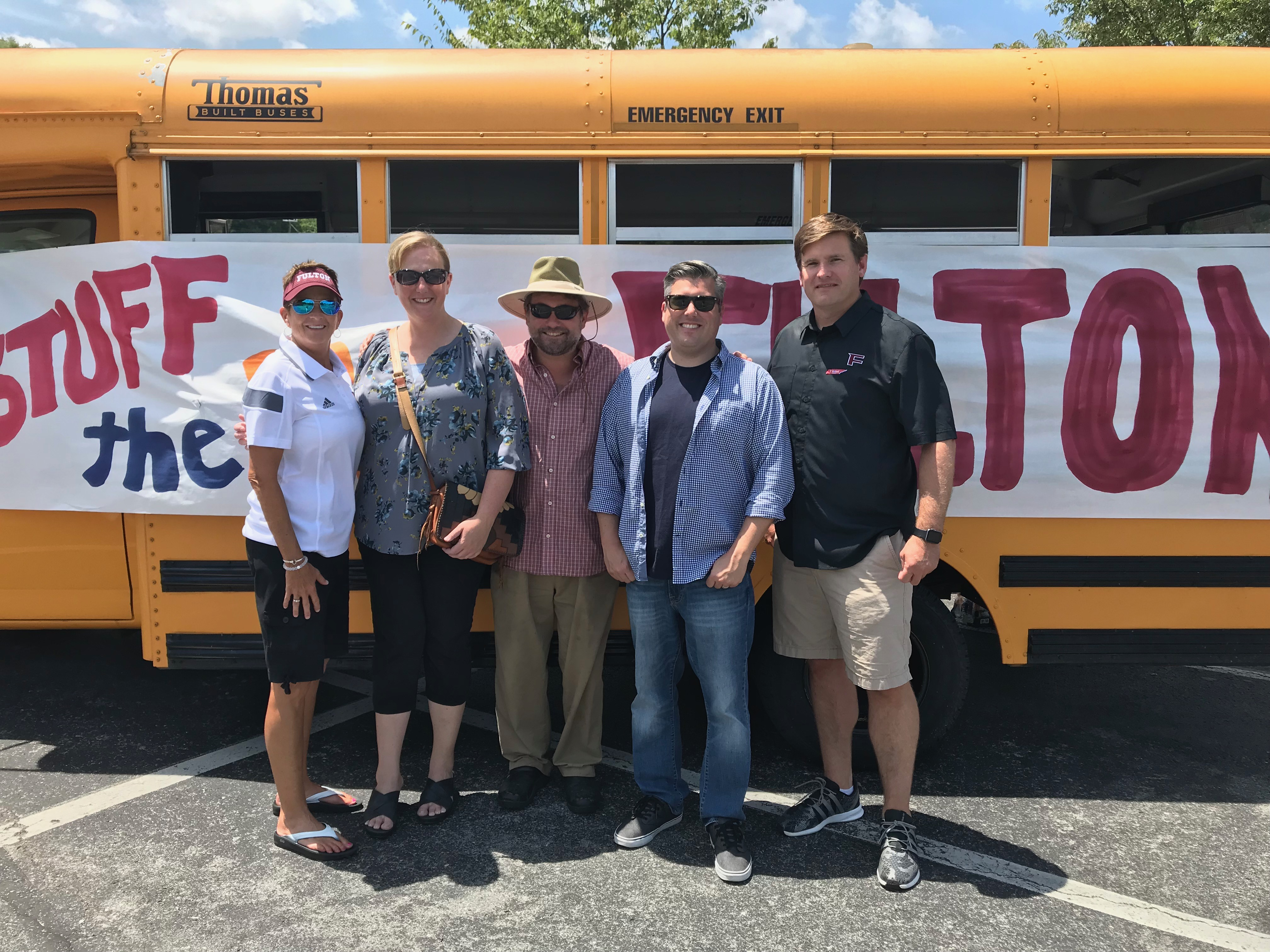 Stuff the Bus for Fulton