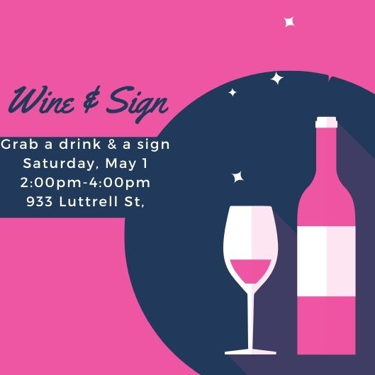Sign Event - May 1st, Luttrell St.