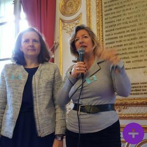 Charlotte Barraco David et Marie-Hélène Tonnellier