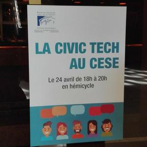 La #CivicTech au CESE