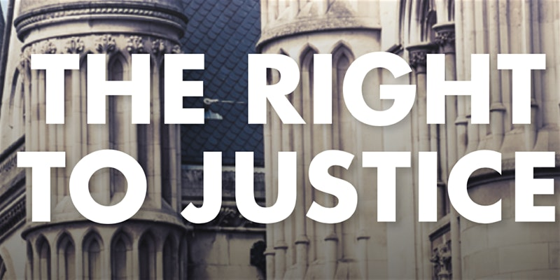 The Right to Justice: In Conversation with Lord Bach and Lord Falconer