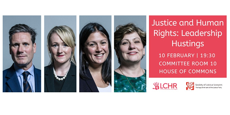 Justice and Human Rights Leadership Hustings
