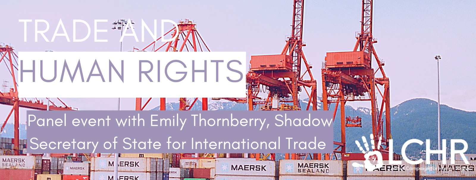 Trade Deals and Human Rights with Emily Thornberry MP
