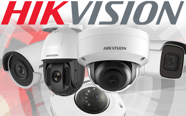 Collection of Hikvision Cameras