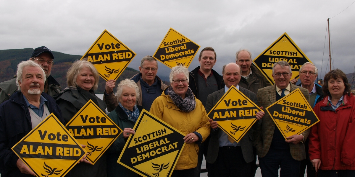 Help Alan Reid and the Liberal Democrats