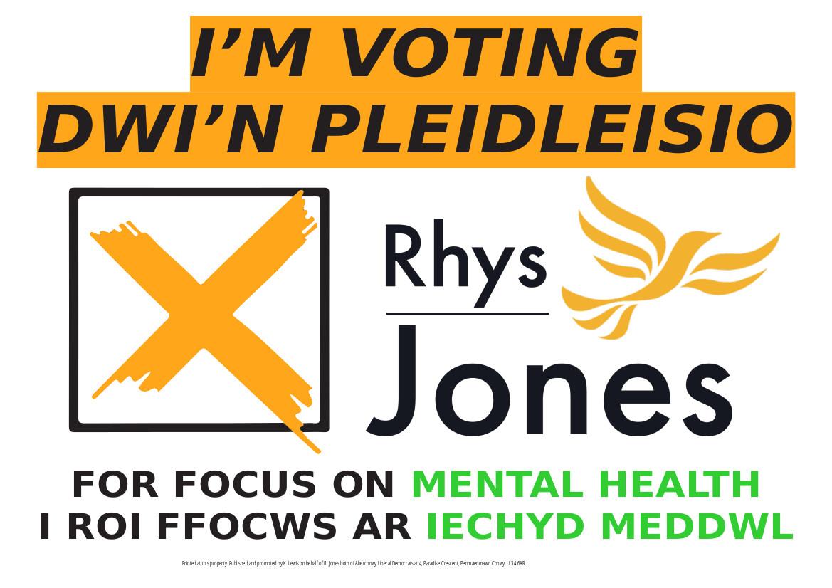 rhys_jones_aberconwy_mental_health_plaid