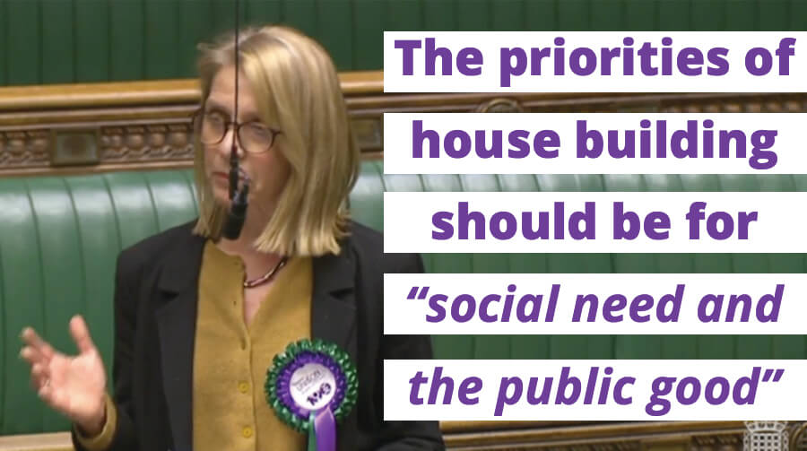 Speech: Housing Should be for Social Need and the Public Good
