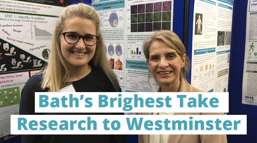 Uni of Bath researchers shine at STEM for BRITAIN Westminster event