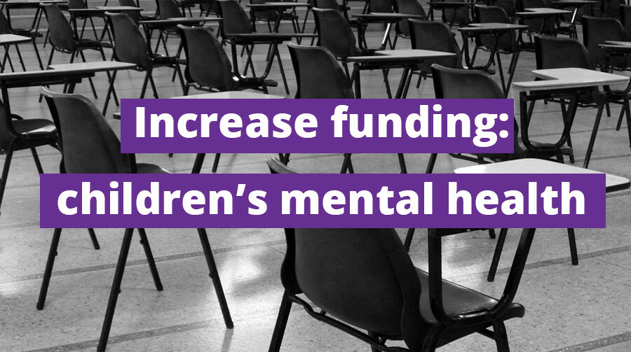 Wera Tables a Motion to Increase Youth Mental Health Funding